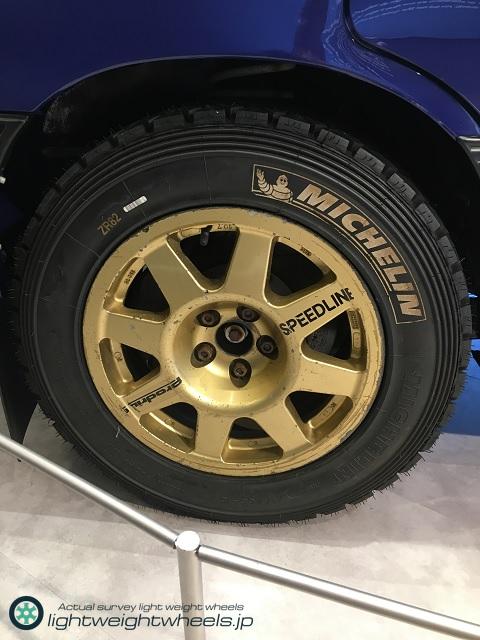 SUBARU LEGACY RS 555 後輪