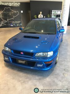 SUBARU IMPREZA 22B-STI VERSION 前