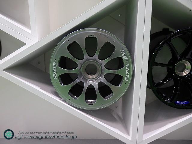 WEC LMP1クラス レース用マグネシュウム鍛造ホイール