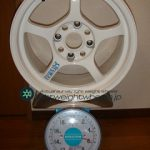 RAYS Gramlights 57CF 15inch 7J offset+12mm PCD114.3mm-4H 重量計測画像