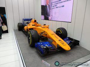 東京モーターショー2019展示車両 McLaren MP4-30