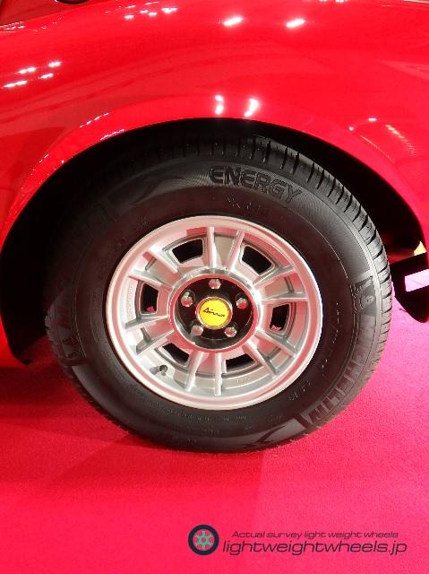 Dino 246 TipoE 後輪アップ
