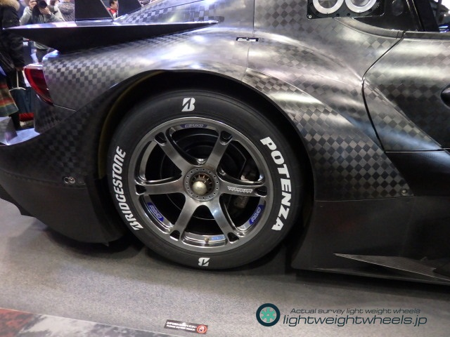SUPER GT GT500 GR Supra Rear Wheel