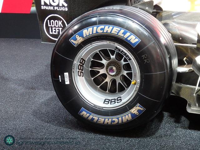 Honda F1 RA106後輪