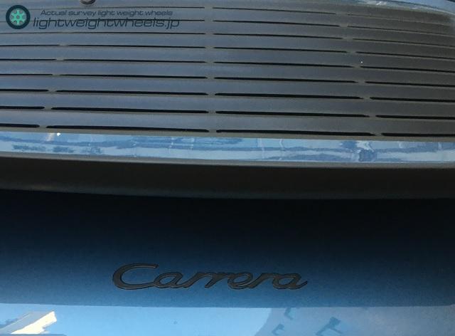 Porsche 911 Carrera後部画像