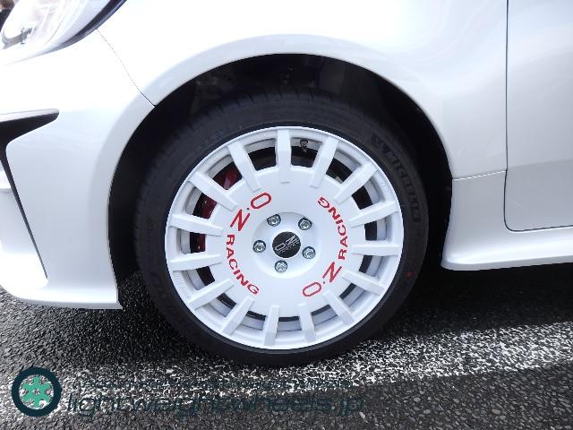 トヨタ GR ヤリス OZ Rally Racing 前輪