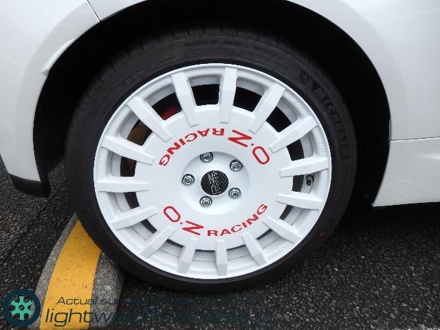 トヨタ GR ヤリス OZ Rally Racing 後輪
