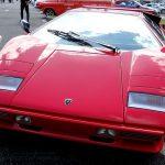 front shot Lamborghini countach 5000 quattrovalvole