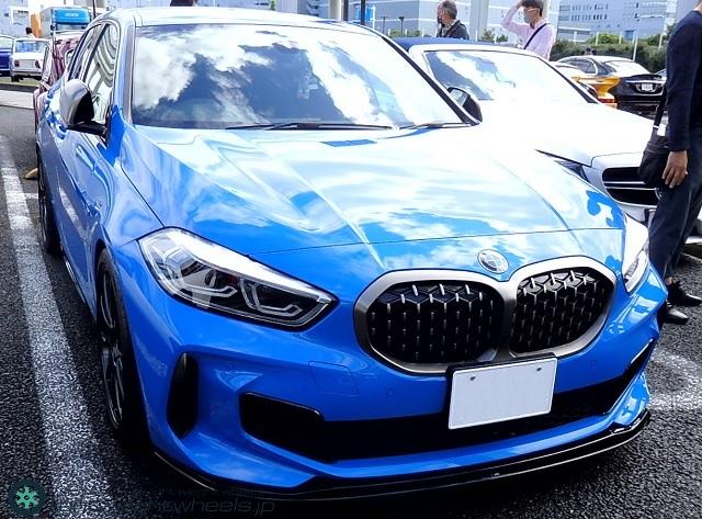 BMW 1シリーズ(F40型)前景