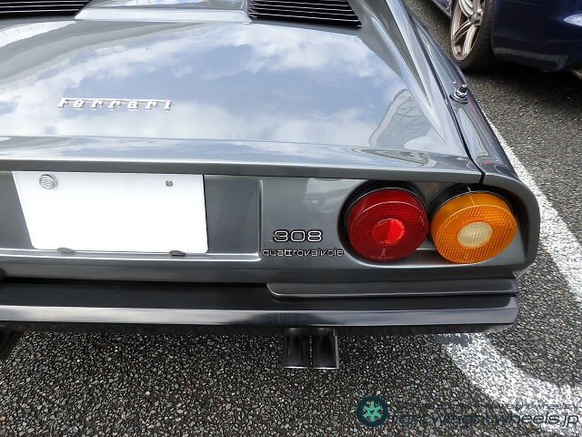 フェラーリ308GTB QV 後ろから