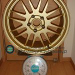No name(TAN-EI-SYA?) 18inch 8.5J offset+34mm PCD114.3mm-5H 重量計測画像