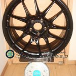 ENKEI Racing GTC02 19inch 8.5J offset+35mm PCD120mm-5H 重量計測画像