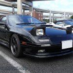 マツダ FC3S RX-7 前景