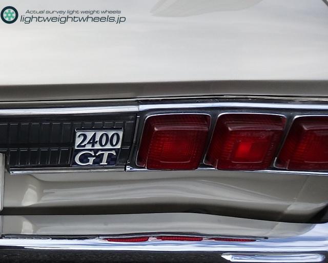 C10型日産スカイライン2400GTエンブレム