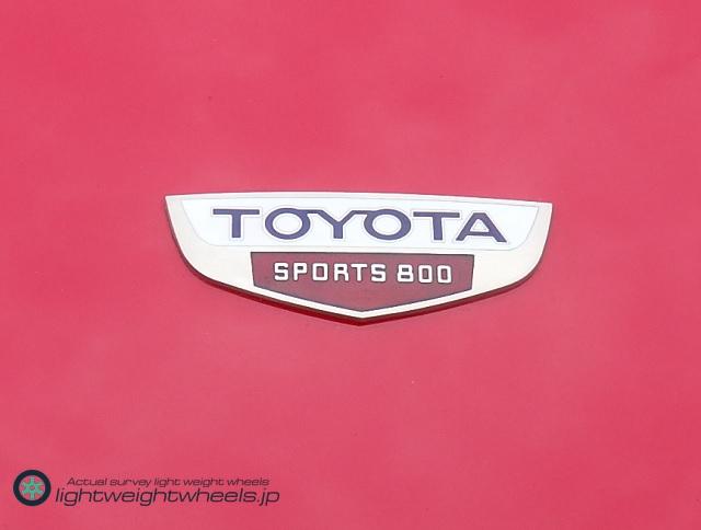 トヨタ スポーツ800エンブレム
